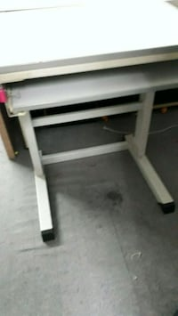 gray and black wooden desk Singapore, 088480