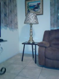 black and gray table lamp Miami, 33130
