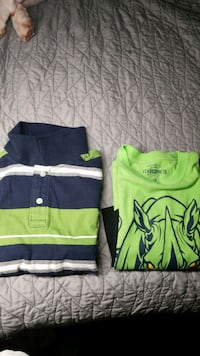 Boys Large Long Sleeved T's Springfield, 22153