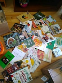 Vegan Vegetarian Cookbooks Large library of new books negotiable Annandale, 22003