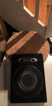 Subwoofer Boss Amplified