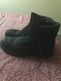 BLACK TIMBERLAND BOOTS SIZE 9 North Las Vegas, 89030