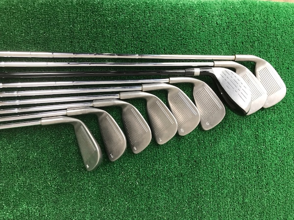 Nine (9) Club Hybrid / Iron Golf Set, 2 thru PW, Stiff & Optiflex 0d96423b-0fd6-44e9-b35c-9752ac75f546