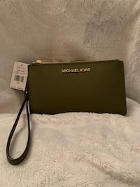 Michael Kors Large Double Zip Wristlet