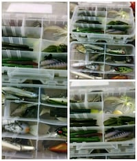 assorted fishing lures collage Turlock, 95380