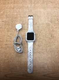 Apple Watch Series 4 (GPS + Cellular, 44mm)w /White N' Gray Stone Band Baltimore, 21216