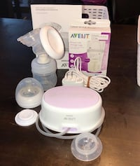 Avent Single Electronic Breast Pump (BARELY USED) Toronto, M2N 6Z9