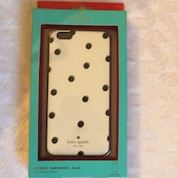 New! Kate Spade Dot Gold Shimmer IPhone 6Plus Case Charles Town, 25414