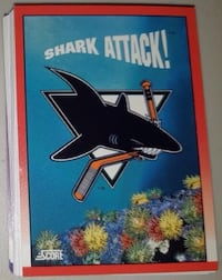 52 Variety Sharks Cards... $5 Firm For 52 Cards. Calgary