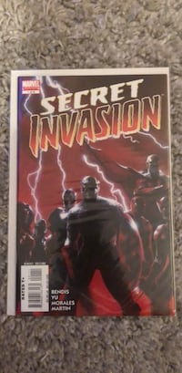 Secret Invasion 1 comic book Toronto, M6M 5C4