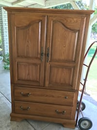 brown wooden cabinet with drawer Bakersfield, 93312