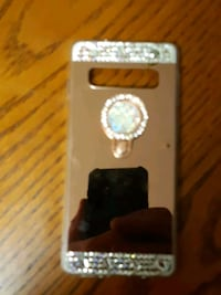 Bejeweled iPhone case, store-bought not made.