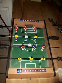 brown and green foosball table Welland, L3B 3V9