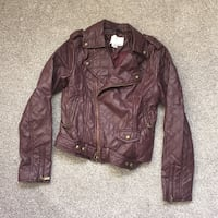 Faux Leather Jacket, red wine Bristol, BS15 1RZ