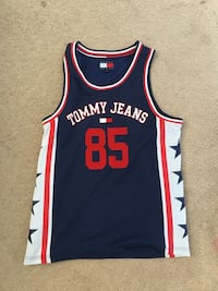 Tommy Hilfiger Basketball Jersey (New) Ann Arbor, 48108