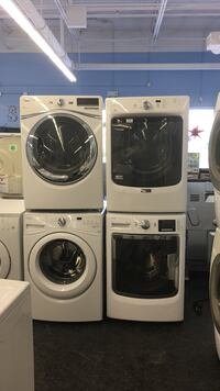 "27"" WASHER/DRYER SETS WITH WARRANTY AND DELIVERY Toronto, M3J 3K7"
