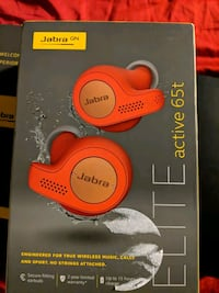 Jabra Elite Active 65t - Ear buds not used, clean Toronto, M9C 1B8