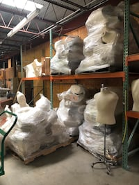 Mannequin - pallet of forms 1291 mi