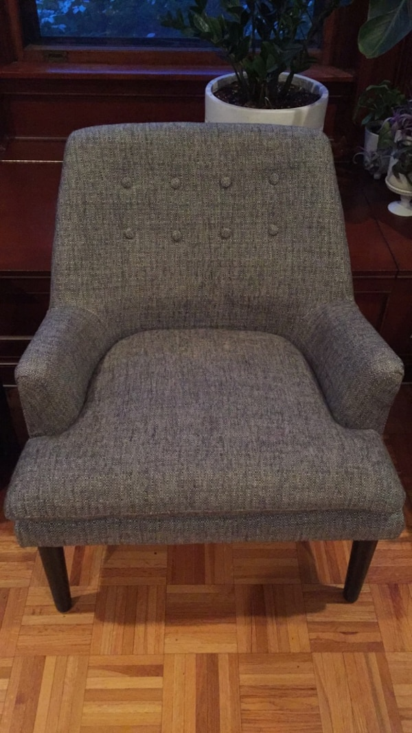 Accent Chairs Sold In Pairs.Pair Of Mid Century Mod Accent Chairs
