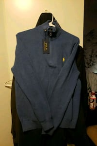 Never worn Blue Polo Quarter Zip Fairfax, 22033