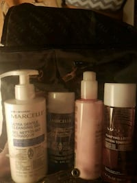 Marcelle skin products and carrying case Surrey, V3V 2L7