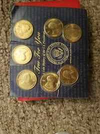 U.S. President coin collection New Carlisle, 45344