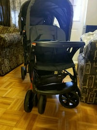 black and gray jogging stroller Toronto, M1E 3N7