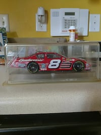 red and white Dale Earnhardt stock car die-cast scale model Sanford, 27330