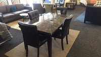 5 Piece Marble Top Dining Set (New)  Norfolk, 23502