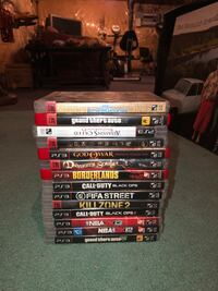 PS3 GAMES (no trades) Georgetown, L7G 5R7
