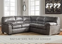 "2pc ""Slate"" Sectional—BRAND NEW Suwanee, 30024"