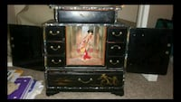 Japanese Antique Jewelry Box with Contents Indianapolis