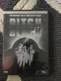 Pitch black dvd movie case Hagerstown, 21742