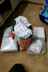 Size 2 and 3 diapers