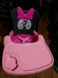 baby's pink and black Minnie Mouse walker Stockton, 95205
