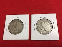 Walking Liberty Half Dollar Lot Washington