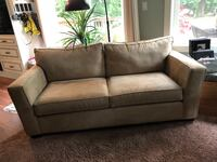 gray fabric 2-seat sofa Langley, V3A 2C5