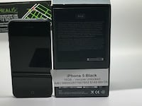 black iPhone 5 with box New York, 10306