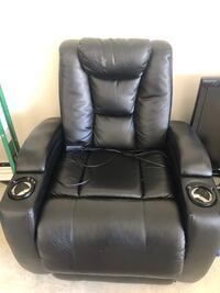 Recliner theater chair good for gaming  Spring, 77386