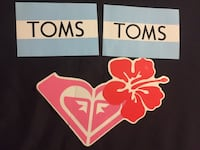 Roxy and Toms Stickers