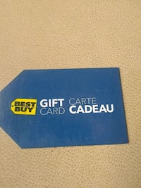best buy gift card $25 store value on it New Westminster, V3M 5X2