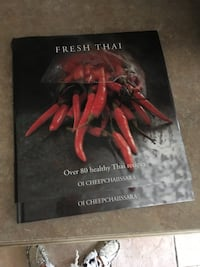 Recipe book Thai food like new hard cover Laval, H7K 3T4