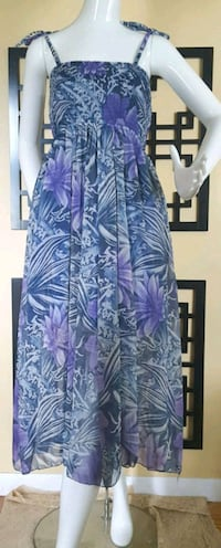 Hibiscus Hawaii Dress One Size(S-L) London, N5Y 4S6