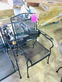 #WAL419 - BRAND NEW - Metal Patio Chair Galion