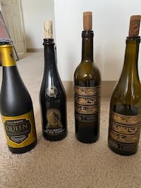 Game of Thrones Wine/Beer Bottles Rare Empty