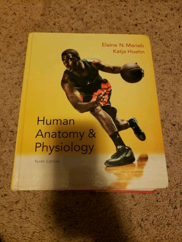 Human anatomy and physiology book