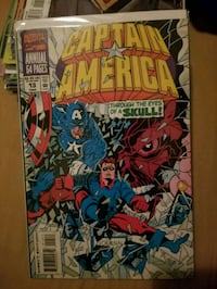Marvel Comics Captain America Through the Eyes of a Skull! comic book pack Fort Myers, 33967