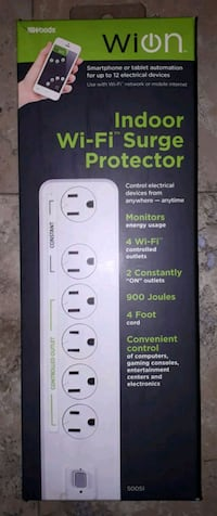 WION INDOOR WIFI SURGE PROTECTOR BRAND NEW Maple Ridge, V2X 0P2
