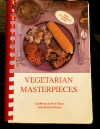 1988 Vegetarian Masterpieces Cookbook