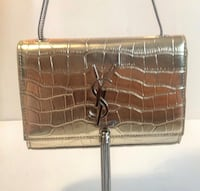 Gold silver sexy YSL purse Richmond Hill, L4C 0Z5